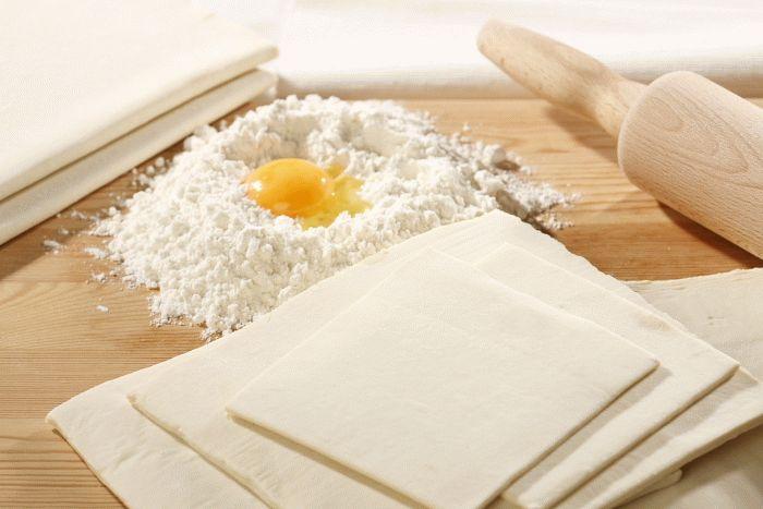 Слоеное тесто для «Наполеона»