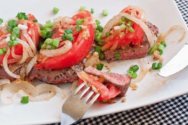 Бифштекс из говядины по-мексикански