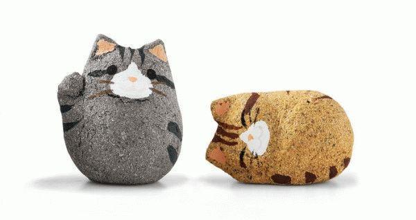 Японское печенье с котиками