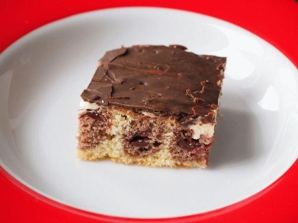 Рецепт торта с вишней «Волны Дуная»