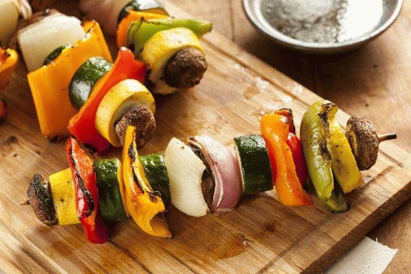 Шашлык из овощей