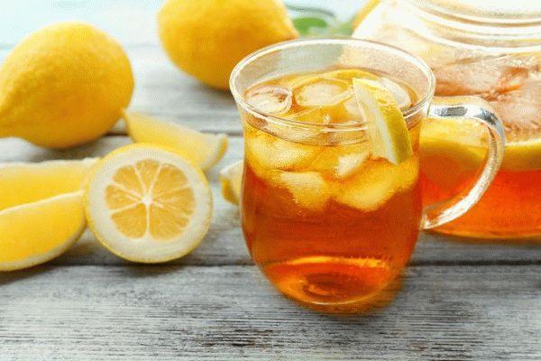 Холодный чай цитрусовый
