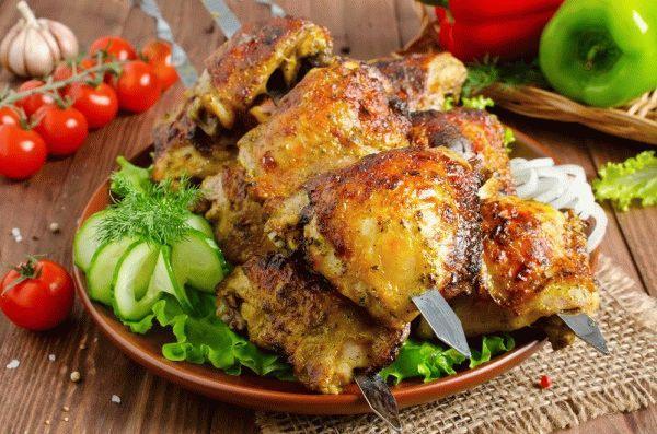 """Куриная печень """"Быстрое угощение"""" – кулинарный рецепт"""