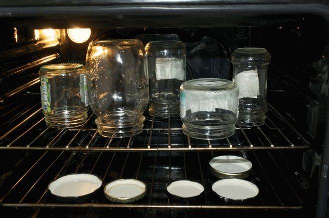 Фото5 Как стерилизовать банки в духовке