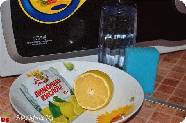 Как почистить микроволновку лимоном в домашних условиях