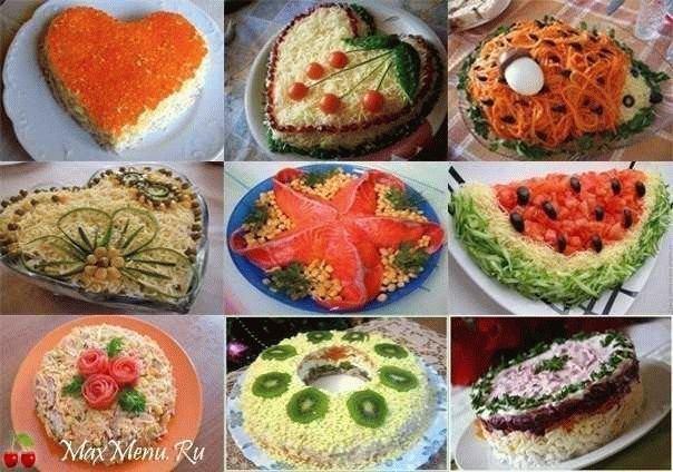 Детские салаты с на праздничный стол рецепты