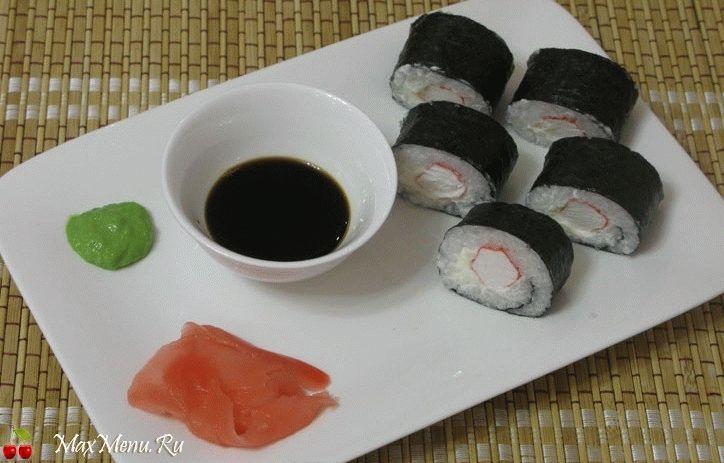 суши дешевые рецепты