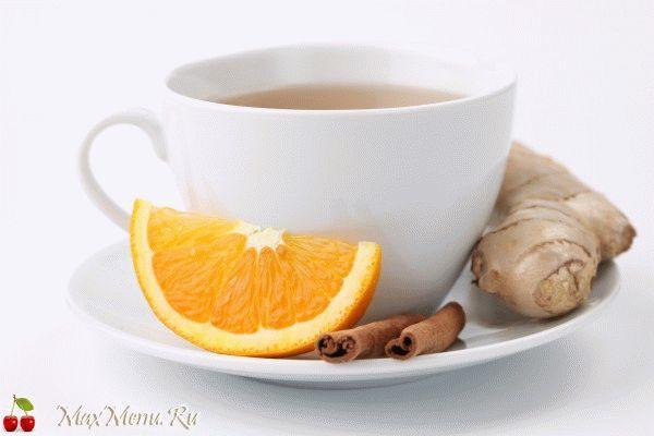 как готовить имбирный чай для похудения