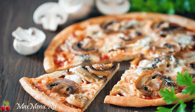 Высокая пицца домашняя рецепт
