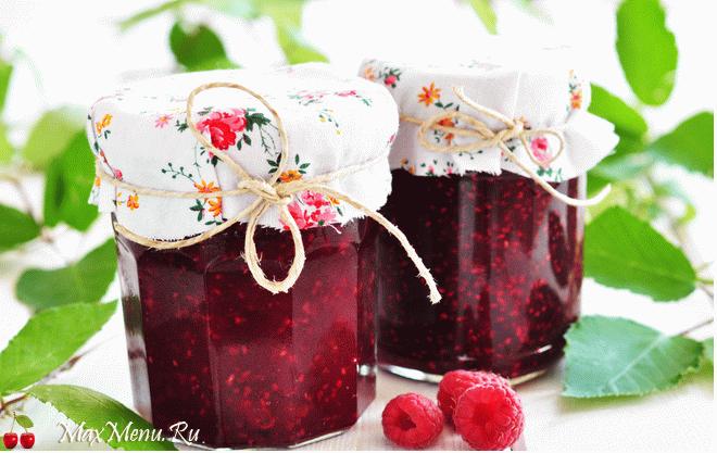 Как приготовить малину с сахаром на зиму