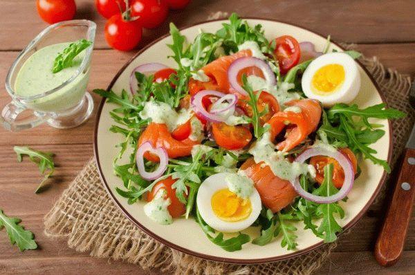 красная рыба под шубой рецепт салат