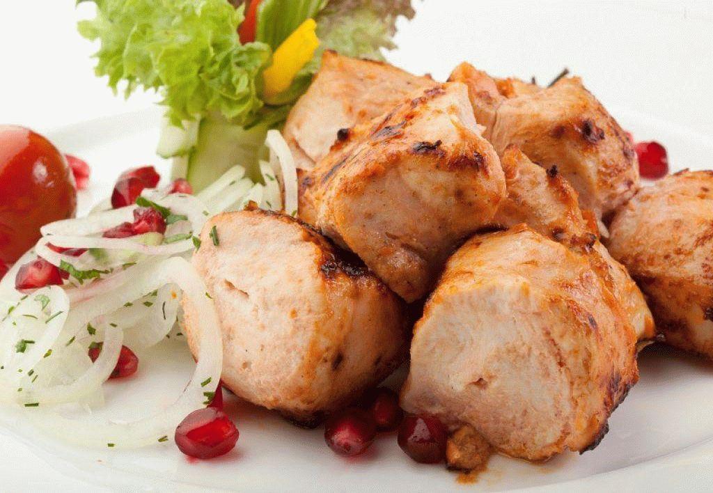 Как сделать шашлык из куриного филе сочным
